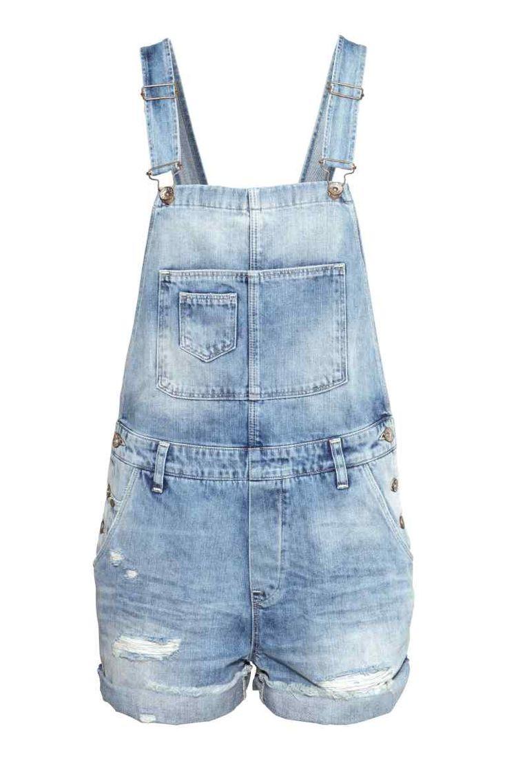 Salopetteshort #jeans