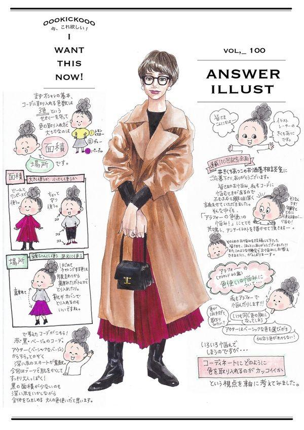 人気イラストレーターきくちあつこさんの連載『今、コレ、欲しい!』100回目を記念したスペシャル企画「#きくちあつこのお洒落相談室」 。きくちあつこさんが読者さんのリアルなファッションのお悩みをイラストで解決してくれました。お得な読者クーポンもあるのでぜひ最後まで読んでください♡