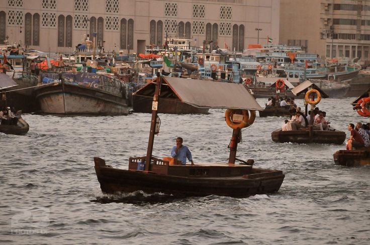 Peak Hour on Dubai Creek photo | 23 Photos Of Dubai