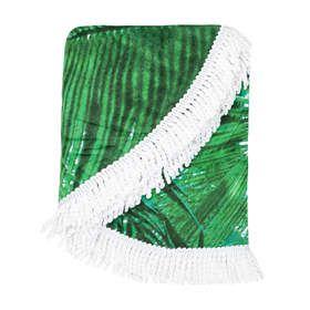 Round Beach Towel - Tropical