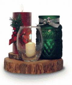 Here's an example of  a nice Candle Table Decoration