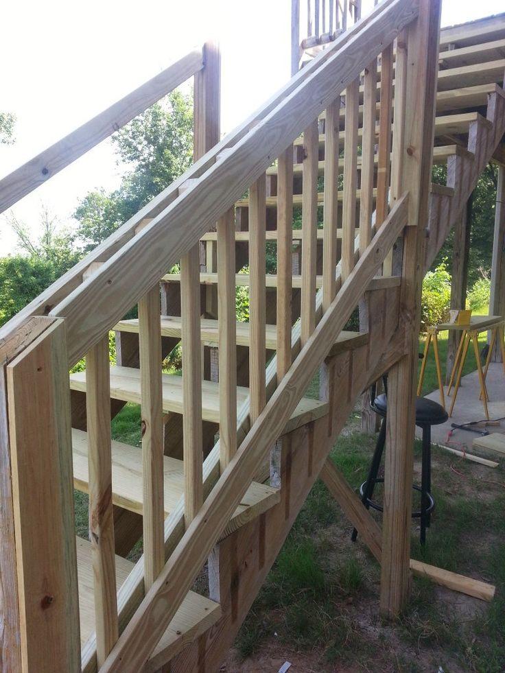 Best 25+ Deck stair railing ideas on Pinterest   Diy ...