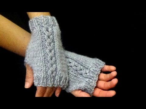 Cómo Tejer Mitones-How to Knit Mittens 2 Agujas (326) - YouTube