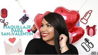 MAQUILLAJE PARA SAN VALENTIN 2018 | HERMOSOOO Y FACIL! |  youtube.com/laladickson | @LalaDickson (IG)