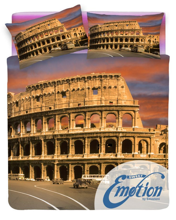 Digital Dream // Variante #Roma #Rome #lenzuola #coppiafedere #copripiumino #trapunta  www.sweet-emotion.it