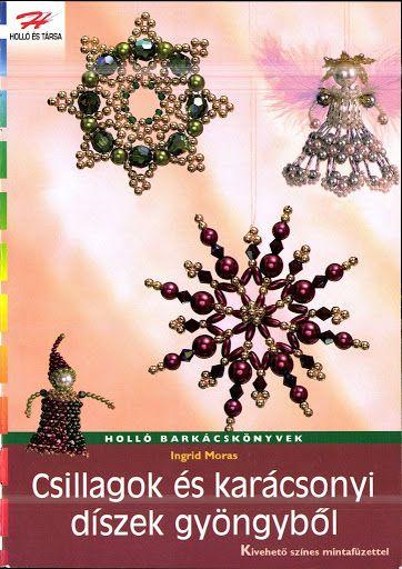 Holló - Csillagok és karácsonyi díszek gyöngyből - Muscaria Amanita - Picasa Web Albums...FREE BOOK AND BEADING PATTERNS!!