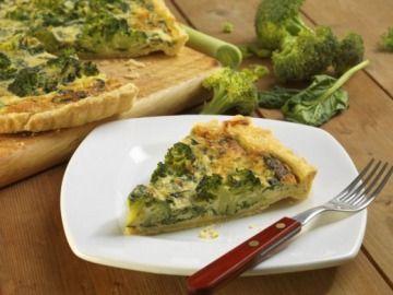Quiche s brokolicí / Quiche with broccoli