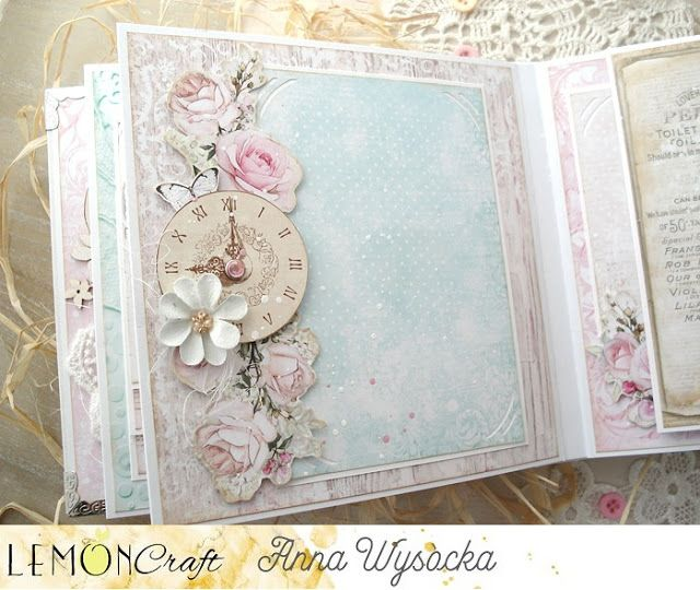 Album W Stylu Shabby Chic I Kartka Vintage Shabby Chic Album And