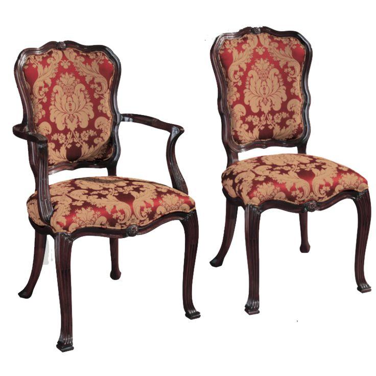 henkel harris upholstered side chair