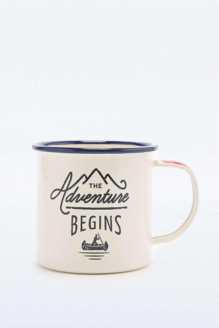 """Emaillebecher """"Adventure"""""""