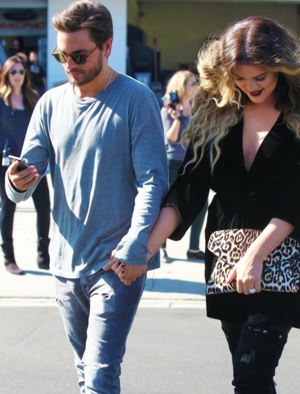 Khloe and Scott are holding hands , so therefore scott and kourtney aren't really married in real life . People ONCE AGAIN THIS ISN'T NORMAL BEHAVIOR SISTER IN LAWAS DON'T HOLD HANDS WITH THEIR BROTHER IN LAW.  WAKE THE FUCK UP ! Already.  P.s. THAT SATANIST KHLOE HAS HER HEAD DOWN IN SUBMISSION LOOK UP THAT WORD IF DON'T UNDERSTAND WHAT THAT MEANS. I'M OUT !
