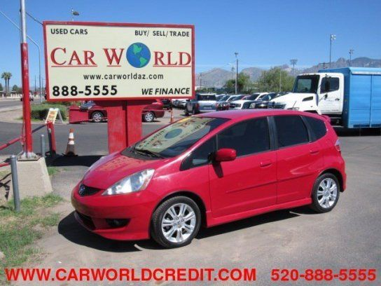 Hatchback, 2009 Honda Fit Sport with 4 Door in Tucson, AZ (85705)