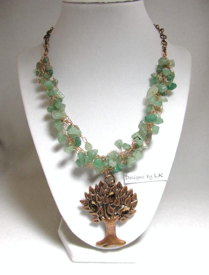 Copper Life - Jewelry creation by Linda Foust