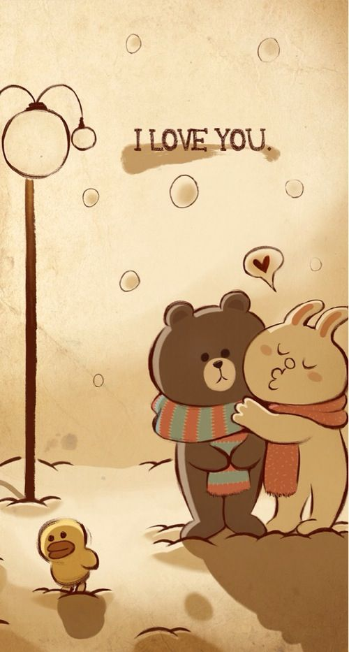 Cuddle brown and cony