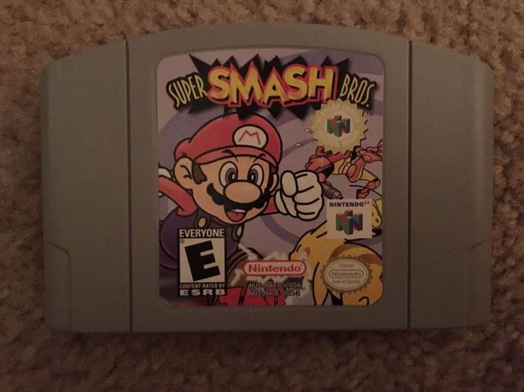 Super Smash Bros. (Nintendo 64, 1999) 45496870461 | eBay | @giftryapp