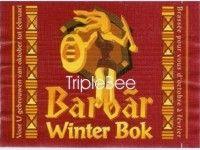 Label van Barbãr Winter Bok