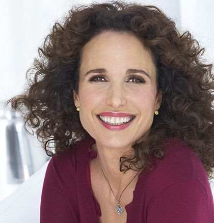 Andie MacDowell on Cedar Cove.