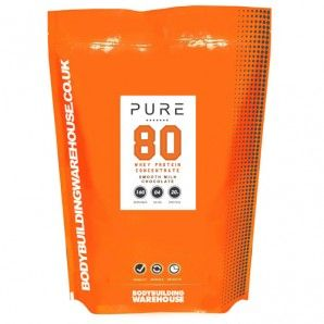 Pure Whey Protein Concentrate 80 is instantised and undenatured, making it ideal for those looking to boost their daily protein intake, and build (or maintain) a lean, healthy physique.  Pure Whey Protein Concentrate 80 has an incredible 19g of high quality protein per 25g serving. It is manufactured using an advanced cross-flow micro-filtration process, at low temperatures to ensure it remains undenatured and highly bioavailable. #protein