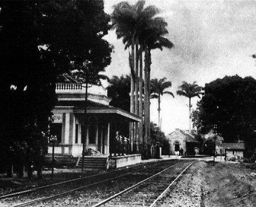 Estrada de Ferro D. Pedro II e Estação Imperial - São Cristóvão, Rio de Janeiro - RJ, Brasil