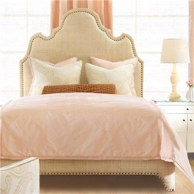 Oly Studio Ingrid raffia Bed