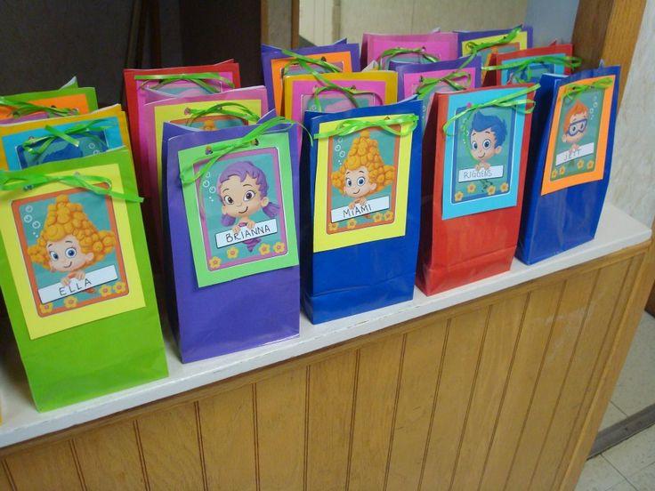 Bubble Guppies Party Decorations Party Favors Ideas