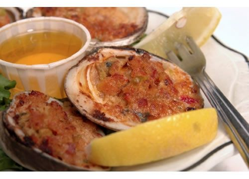 One of my favorite clam dishes is Clams Casino, a classic baked preparation that originated in Narragansett, Rhode Island.