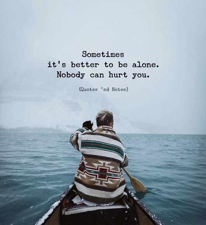 Sometimes its better to be alone.. via (http://ift.tt/2nfihf1)