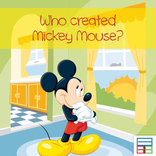 Walt Disney had made Mickey mouse. #Quiz #Kids #Knowledge #Brain #GK