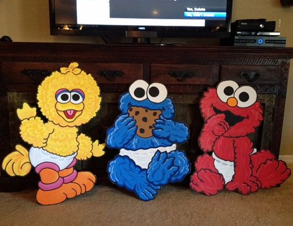 Hey, I found this really awesome Etsy listing at https://www.etsy.com/listing/102675824/baby-sesame-street-baby-elmo-baby-cookie