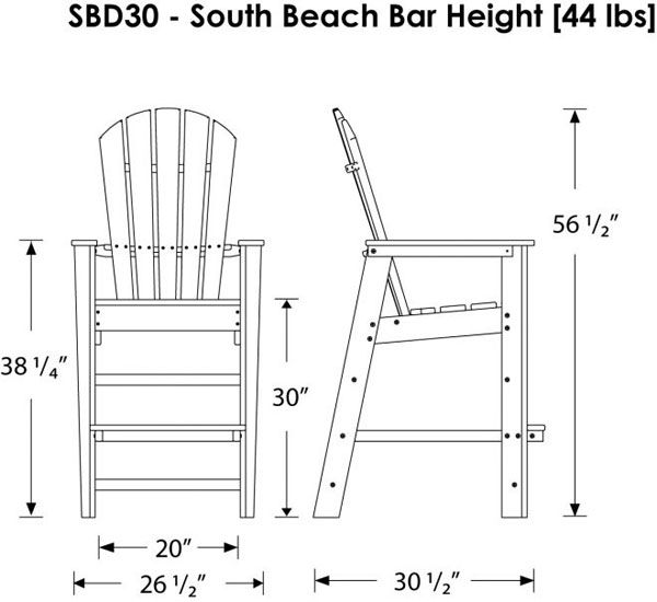 plans for bar height adirondack - google search | diy home decor, Hause und Garten