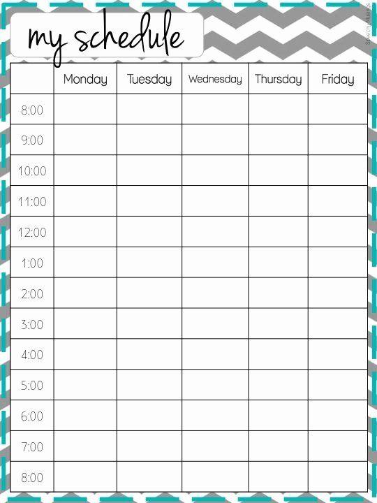Cute Class Schedule Maker Awesome Cute Class Schedule Maker School Schedule College Organization School Organization