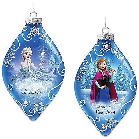 disney frozen christmas trees google search - Frozen Christmas Tree Ornaments