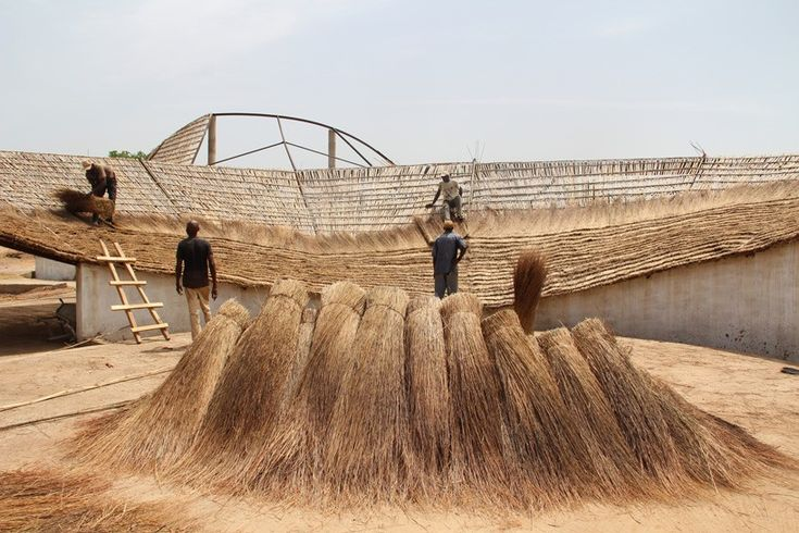 toshiko mori's ecological cultural center in senegal set to open