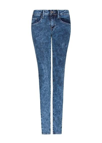 MANGO - Acid wash super slim jeans