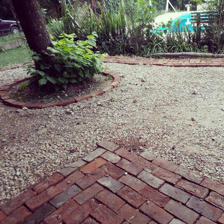 M s de 25 ideas incre bles sobre patios de ladrillo en for Ladrillos para piletas
