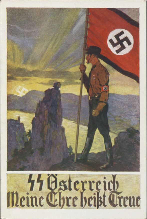409 best images about German Nazi Propaganda Postcards on ...
