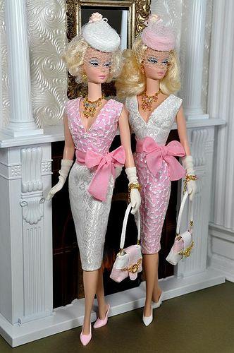 ...Oh, Barbie you dress so divine!