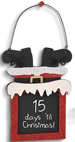 i like this pin because i think its fun and inventive. its clear look of Santa going down a chimney make it so much better than just an ordinary countdown.