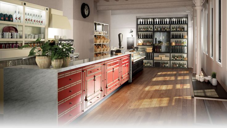 Arredo bar modello toscana arredamento bar e toscana for Aziende arredamento toscana