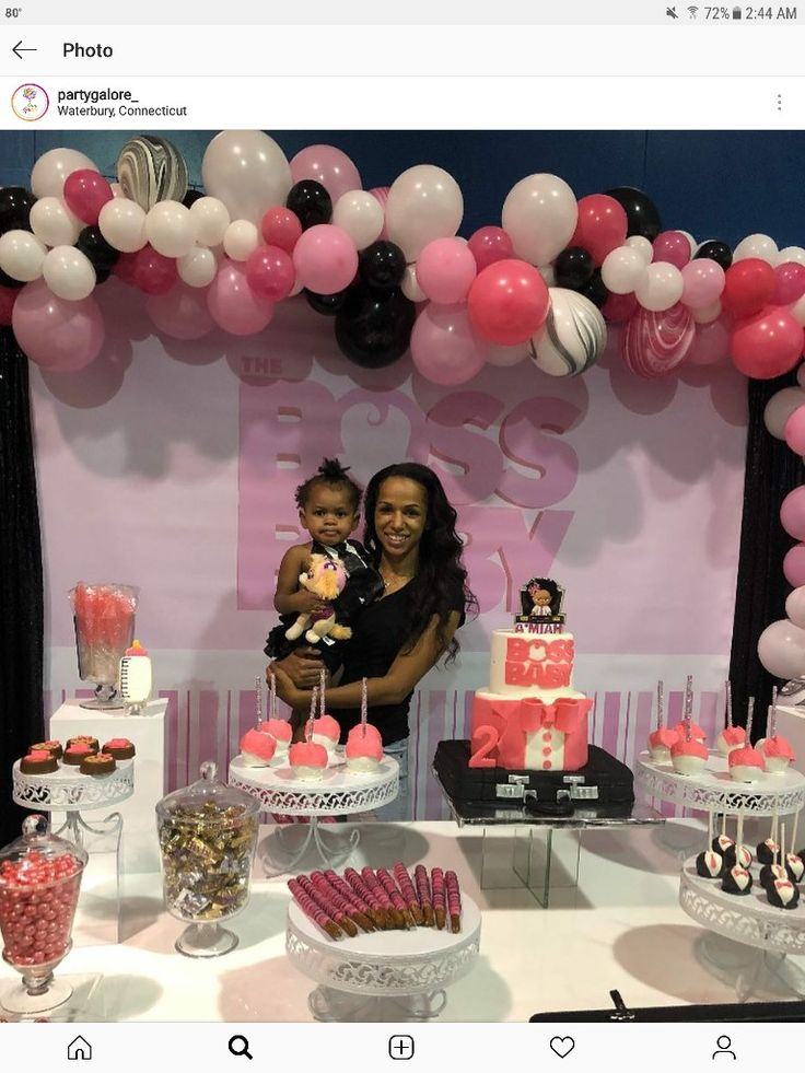 Pin By Allison Hall On Boss Baby Baby Birthday Party