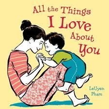 This book is dedicated to the love a mother has for her son…the way their hair sticks up in the morning and how sweet they look in their jammies…how we love watching them play with their dad and how much we love their hugs. Get out the tissues…if you have a little one growing up WAY faster than you could ever imagine, this book will tug at your heartstrings.