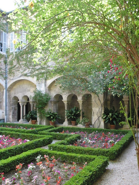 cloister of st. paul, st-remy, france