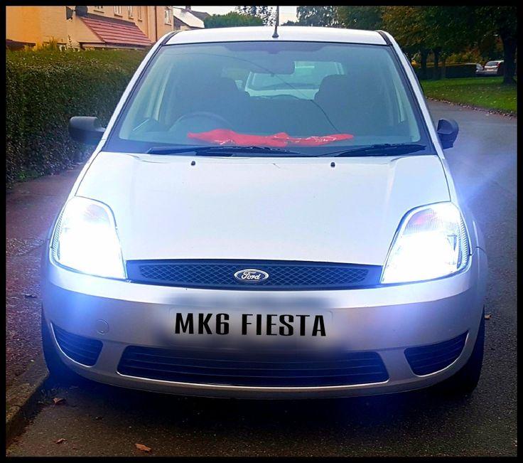 Loving my new toy!!! #fiestamk6 #FordFiesta #fordowners #FiestaDuratec #Fastford #hidlights