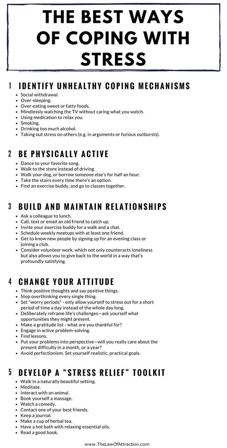 Die 5 besten Tipps für den Umgang mit Stress und Angst #angst #besten #stress #…