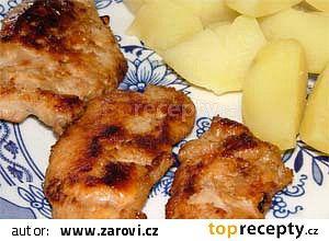 Medové maso na grilu recept - TopRecepty.cz
