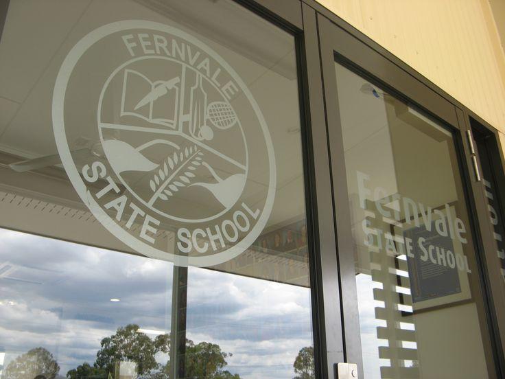 Fernvale State School Window Signage #school #signs #CSI #CorporateSignIndustries #signage #graphic #design #window #windowsign #identity #glasss #recognition