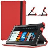 CaseCrown Ace Flip Case (Blazing Red) for Amazon Kindle Fire