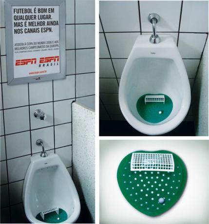 kinda disgusting but kinds brilliant ambient ad ESPN Futbol by Arturo de Albornoz, via Flickr