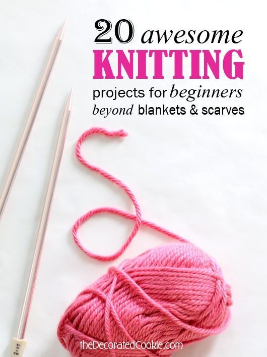 Beginner Knitting Project Ideas : Best images about knitting on pinterest free
