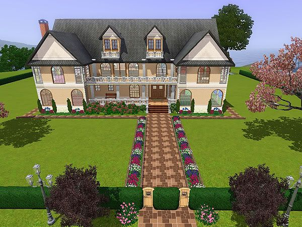 Forums community the sims 3 sims houses pinterest for Sims 3 family home ideas